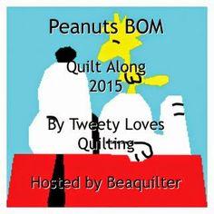 2015 Peanuts BOM QAL from Beaquilter
