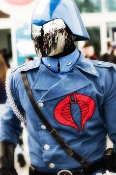 Character: Cobra Commander / From: 'G.I. JOE' / Cosplayer: Unknown