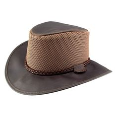 aac41a2a119 Breeze (Chocolate) - American Hat Makers Mens Sun Hats