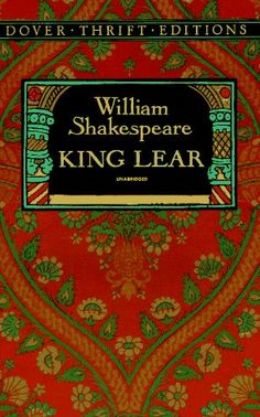 Shakespeare investigates the dilemmas of man vs. nature and man vs. Cordelia's fate will make you weep. The man who never reads lives onl I Love Books, Great Books, Books To Read, My Books, William Shakespeare, King Lear, Man Vs, Classic Books, Book Nooks