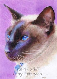 Cats - Cat Art by award winning artist Karen Hull