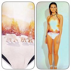 3D European Onepiece Swim Suit 3D European Style one piece swimsuit. Back zip.  Made of spandex, cotton and polyester Roedarryl Swim One Pieces