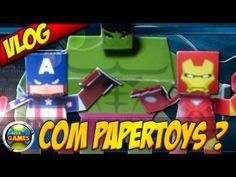Vlog PayperToys Marvel & DC