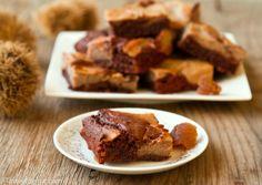 Chestnut/chocolate brownie