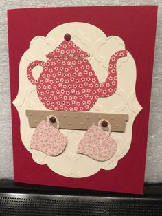 cups & kettle framelits from Stampin Up