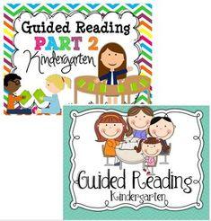 Guided Reading {Kindergarten} BUNDLE$