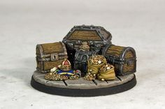 PRE-ORDER - Treasure Items - Dungeon Furniture (x6 figs)