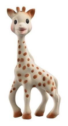 """Sophie the Giraffe was born in France in 1961. For 40 years, she was Parisian parents' best-kept secret. Then, in 2000, French transplant Helene Dumoulin-Montgomery gave birth to her daughter Mathilde. """"Growing up, I had a Sophie of my own, and when my daughter was born, I was looking for Sophie and"""