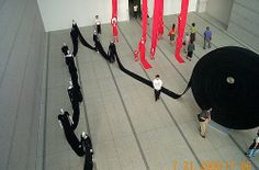 issey miyake exhibition @ Tokyo MCA, Japan 07.2000