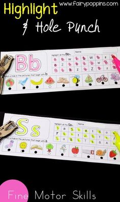 Beginning sounds activities for kids. These hands-on activities help kids learn about the alphabet and letter sounds. Kids learn to identify the beginning sound of letter using playdough mats, puzzles and sorting games. Early Learning Activities, Letter Activities, Phonics Activities, Preschool Learning, Activities For Kids, Teaching Resources, Preschool Phonics, Kinesthetic Learning, Jolly Phonics