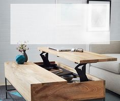 West Elm coffee table....make with dad?