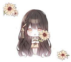 Loli Kawaii, Kawaii Chibi, Kawaii Art, Cute Anime Chibi, Anime Girl Cute, Kawaii Anime Girl, Anime Drawings Sketches, Kawaii Drawings, Cute Drawings