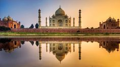 The Taj Mahal is one of the seven wonders and is located in Agra, India. The best time to visit Taj Mahal is in the morning. Have a look some Taj Mahal Photos Taj Mahal India, Le Taj Mahal, India India, India Tour, North India, Rajasthan India, Delhi India, India Pic, India Palace