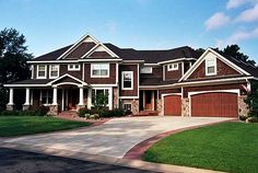 Plan W14440RK: Sloping Lot, Craftsman, Photo Gallery, Luxury, Premium Collection, Northwest House Plans & Home Designs