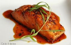 Caramelized Salmon with fennel pollen #FennelFriday #hgeats