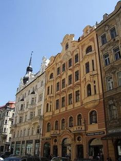 """Jewish Quarter in Prague...I've been there. Has an incredible kosher restaurant there called """"King Solomon"""". Had a lovely meal with my husband a few years ago."""