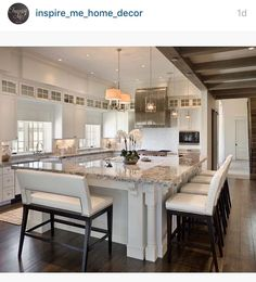 Lovely big kitchen