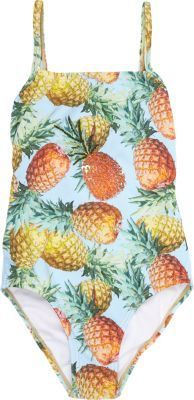 Submarine Pineapple-Print Swim Suit