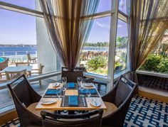 Breakfast with a view at Vela Restaurant!