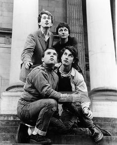 Gang of Four. If you have ever heard of Einstürzende Neubauten don't you think Andy and Jon look like alexander hacke? New Wave Music, The New Wave, Pop Rock, Rock And Roll, Rock Band Photos, Dream Pop, Music Icon, 80s Music, Alternative Music