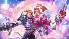 Mobile Legend Miya And Alucard The Swan Princess, Mobiles, Hero Fighter, Miya Mobile Legends, Alucard Mobile Legends, Moba Legends, Stamp Tv, Global Mobile, Legend Images