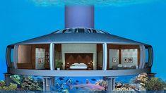 Maison sous-marine H2Ome