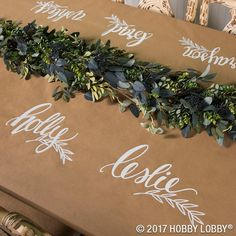 Create a custom fall tablescape with Kraft paper!