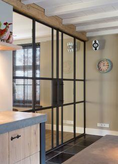 Preferro metaaltechniek - Stalen deuren in woning - Hoog ■ Exclusieve woon- en tuin inspiratie.