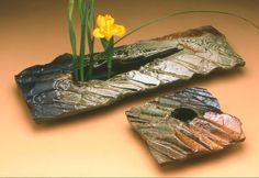 Rock Form Ikebana