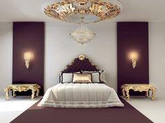 False ceiling in bedroom