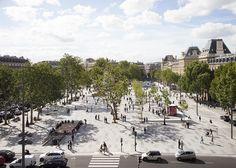 Place de la Republique por TVK. Fotografía © Clément Guillaume. Señala encima de la imagen para verla más grande.