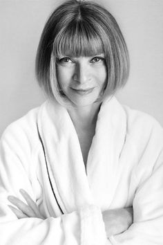 Anna Wintour photographed by Mario Testino