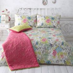 Butterfly Home by Matthew Williamson Natural designer 'primavera' bedding set- at Debenhams Mobile