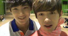 Mingyu and Doyoon (Seventeen Pledis boys)