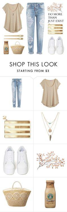 """""""{ READ DESC. } Picnic Date"""" by alexis-belaruano ❤ liked on Polyvore featuring Dsquared2, Calypso St. Barth, Kate Spade, Charlotte Russe, Jeffrey Campbell, hightops, springpicnic and lexistylechallenge"""