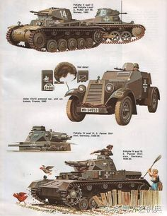Battle of France 1940 - Mama's resistance! German Soldiers Ww2, German Army, Army Vehicles, Armored Vehicles, Military Art, Military History, Panzer Ii, Germany Ww2, Tank Armor