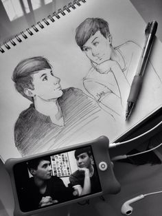 I was in art class when I accidentally drew this... I kept it but I didn't want Dan to find it..
