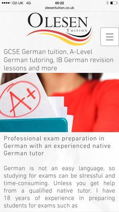 REALLY worried about GCSE German?