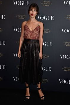 Jeanne Damas at Vogue Aniversary  #guccidiscount