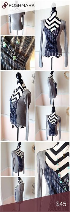 Free People Sexy Boho V Neck Sweater Free People Sexy Boho V Neck Sweater. Size XS fits true to size. Used, Great Condition. Worn a handful of times. Sweater has No holes, No rips, No stains. Feel free to ask questions or make an offer. Will provide measurements upon request. 🚫NO TRADES🚫 Free People Sweaters V-Necks