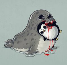 15. La cara de regordeta de la foca