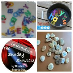 Alphabet Fun & Learning on Sunday Showcase linky (lots of other great ideas)