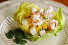 Savoring Time in the Kitchen: Shrimp, Jicama and Mango Salad