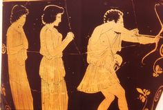 Odysseus Shoots The Suitors