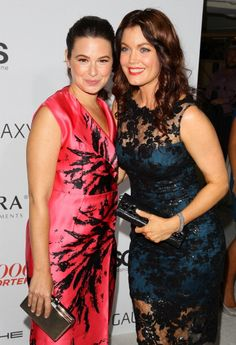 """We were delighted that""""Scandal's"""" Katie Lowes carried Jill Milan's Art Deco clutch to the Hollywood Reporter Emmy Party last night.  Katie also does wonderful work with the Lollipop Theater (http://lollipoptheater.org), a charity that brings movies and theatrical productions to chronically and terminally ill children. #katielowes #scandal #jillmilan #madeinitaly #crueltyfree"""