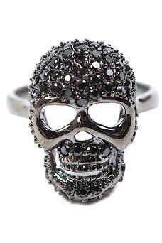 A Different Decision: Skull Wedding Rings Skull Wedding Ring, Skull Engagement Ring, Wedding Rings, Skull Jewelry, Skull Rings, Goth Jewelry, Hippie Jewelry, Jewelry Rings, Unique Rings