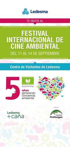 GREEN Film Fest, Cultura en armonía con el planeta, es el Festival Internacional de Cine Ambiental que comenzó en 2010 y tiene como objetivo concientizar a través de la cultura. El festival propone disfrutar de las mejores producciones audiovisuales de temática ambiental, utilizando el cine como medio para generar conciencia y contribuir a una mejora en la calidad de vida de las personas.