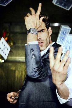 Supermodel Jon Kortajarena is the Face of Bulgari Watches Watches Photography, Man Photography, Editorial Photography, Fashion Photography, Popular Watches, Watches For Men, Men's Watches, Jewelry Watches, Bvlgari Watches