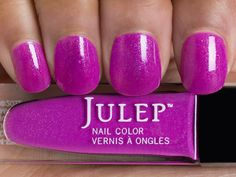 Julep - Flora- Exotic dragon fruit with blue shimmer