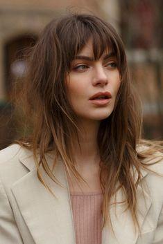Mara Lafontan | MC2 Model Management #shag #modernshag #brunette Bad Hair, Hair Day, Hairstyles With Bangs, Pretty Hairstyles, Pelo Guay, Brown Blonde Hair, Grunge Hair, Hair Looks, Hair Inspiration